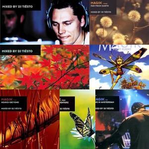 Tiesto - Full Magik Albums