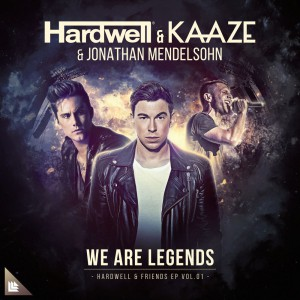 Photo of Hardwell & KAAZE feat. Jonathan Mendelsohn – We Are Legends