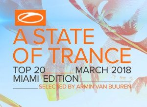 A State Of Trance Top 20 Miami Edition (2018)