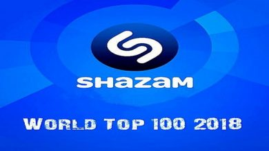 Shazam World Top 100 April (2018)