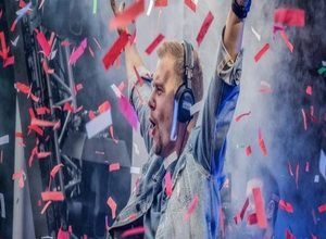 Photo of Armin van Buuren live at Amsterdam Music Festival 2019
