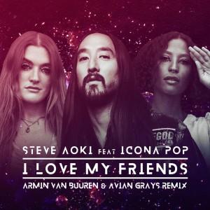 Photo of Steve Aoki & Icona Pop – I Love My Friends (Armin van Buuren Remix)