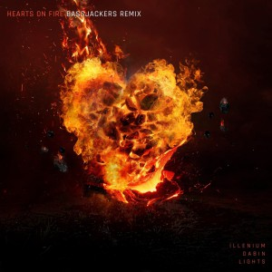 آهنگ پراگرسیو هاوس از Illenium & Dabin بنام Hearts on Fire (Bassjackers Remix)