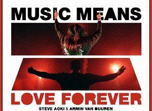 Steve Aoki & Armin van Buuren - Music Means Love Forever